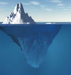 Are you managing on the tip of the Iceberg?